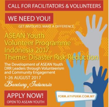 Calling For AYVP Indonesia 2017 Facilitators & Volunteers