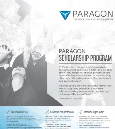Paragon Scholarship Program