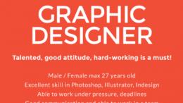 lowongan graphic designer ideachef