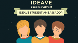 lowongan ideave student ambassador