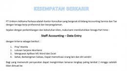 lowongan accounting