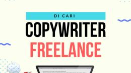 lowongan freelance copywriter PT.Archontas