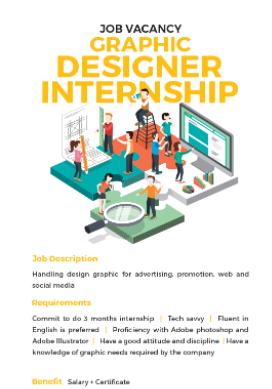 Graphic Designer Internship StudentJob Indonesia