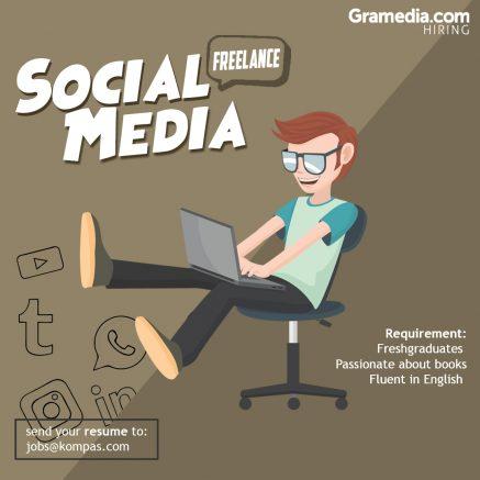 lowongan freelance social media