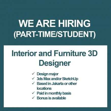 Intern Part Time Interior Designer Forum Lowongan Kerja