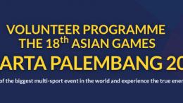 volunteer asian games jakarta palembang 2018