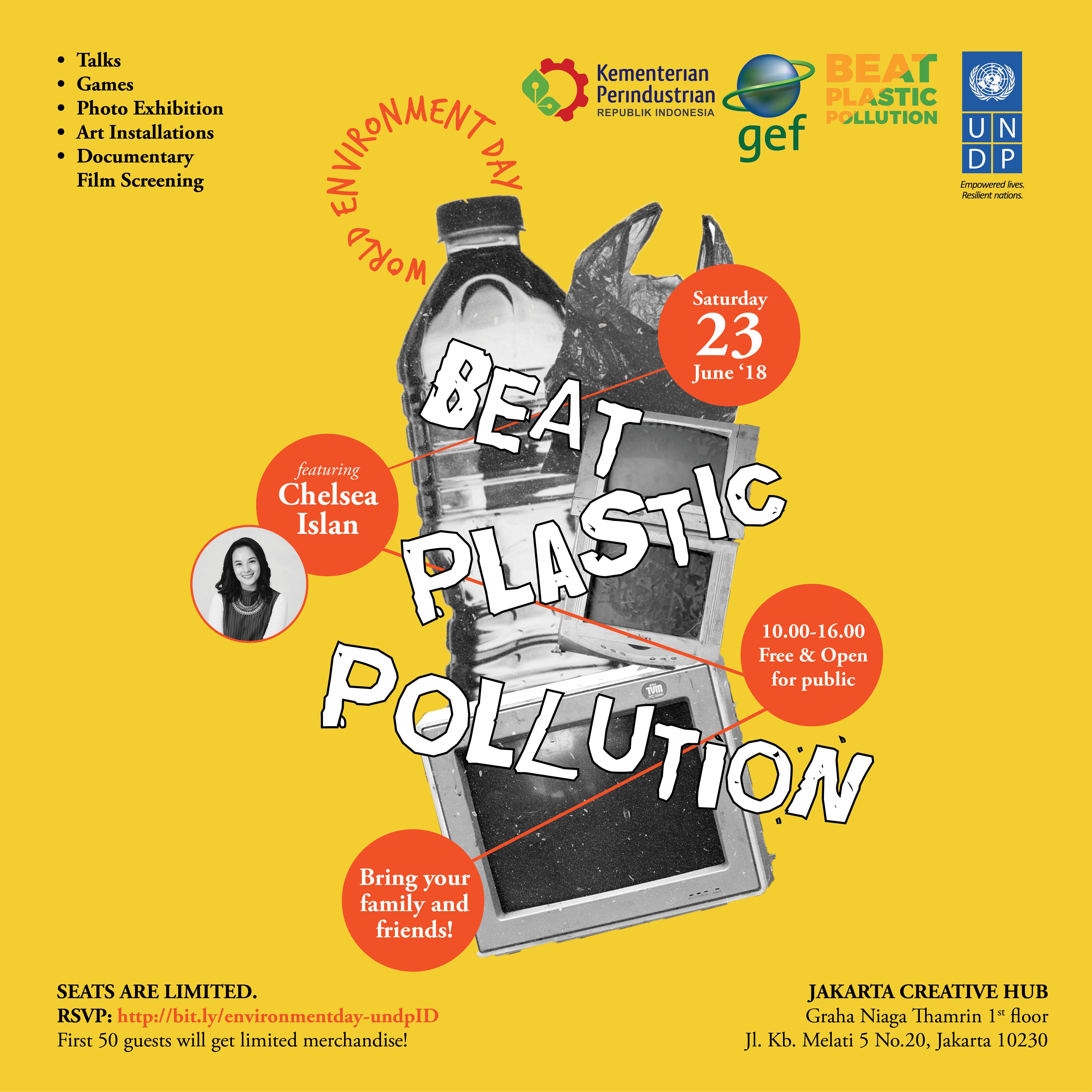 Rayakan Hari Lingkungan Hidup Sedunia Bersama Undp Indonesia Dan